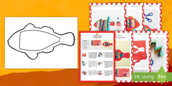 Lucky Fish Craft Instructions English/Hindi - simple Craft, instructions,  chinese new year, lucky fish, lucky, festival, celebration