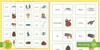 Puzle: La letra Ñ Puzzle - juego lectoescritura, juego lecto, juego didáctico, lecto, sonidos, lecto-escritura, fonemas, sonid