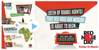Red Nose Day 2015 Ngosa Assembly - red nose day, 2015, assembly