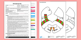 Bee Bot Activity EYFS Adult Input Plan and Resource Pack to Support Teaching on The Snowman - EYFS, Early Years, planning, Christmas, Winter, story, UtW, Understanding the World, Bee-Bot, ICT, Raymond Briggs, The Snowman