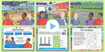 Year 3 Number and Place Value Maths Mastery PowerPoints Resource Pack - Reasoning, Greater Depth, Abstract, Problem Solving, Explanation
