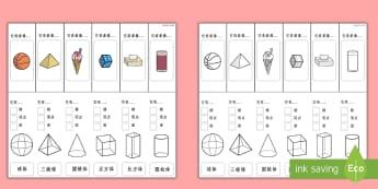 立体图形性质视觉辅助 - 立体图形视觉辅助,立体图形性质,日常物品