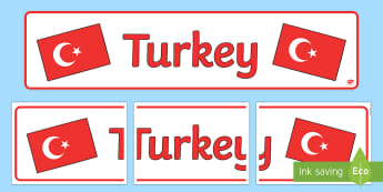 Turkey Display Banner - Turkey, Olympics, Olympic Games, sports, Olympic, London, 2012, display, banner, sign, poster, activity, Olympic torch, flag, countries, medal, Olympic Rings, mascots, flame, compete, events, tennis, athlete, swimming