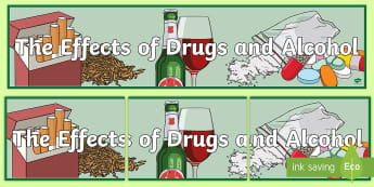 Substance Misuse Display Banner - health, wellbeing, substance Misuse, alcohol, drugs, tobacco,Scottish