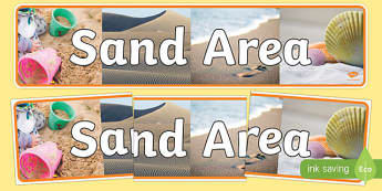 Sand Area Photo Display Banner - sand area, display, photo banner, banner, display banner, display header, themed banner, photo display, photo header