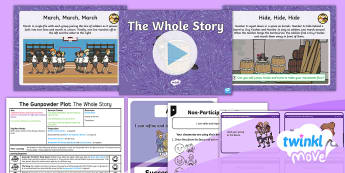 Twinkl Move - Year 2 Dance: The Gunpowder Plot Lesson 5 - The Whole Story - Pe, Physical Education, Key Stage 1, KS1, Year 1, Y1, Year 2, Y2, Warm-Up, Dance, Sport, Exercise, T