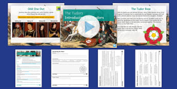 The Tudors Lesson 1: Introduction Lesson Pack - War, Roses, Henry VII, Lancaster, York, Richard III