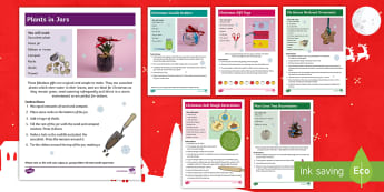 Whole School Christmas Gift Making Day Resource Pack - school fair, Christmas Fair, making, craft, parents