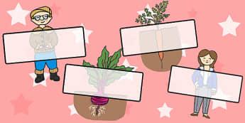 Oliver's Vegetables Editable Self-Registration - stories, self reg