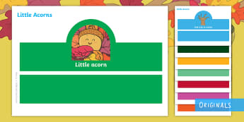 Little Acorns Role-Play Headbands - Little Acorns, Role-play, headbands, KS1, EYFS, Story