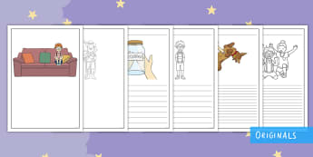 The Making of Milton Writing Frames - twinkl fiction, The Making of Milton, writing frames, writing, story, KS1, EYFS