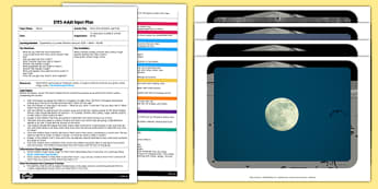 Moon Mud Outdoor Learning EYFS Adult Input Plan and Resource Pack - Forest school, Forest schools, Outdoor learning, space, moon, mud, adult lead, EYFS, planning