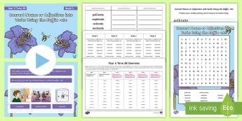 Year 5 Term 2B Week 3 Spelling Pack - Spelling Lists, Word Lists, Spring Term, List Pack, SPaG, spelling homework