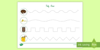 Tidy Kiwi Cutting Skills Activity - tidy kiwi, New Zealand, rubbish, recycling, Years 1-6, cutting skills, activity