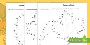 Nauczanie pocztkowe klasy i iii matematyka page 4 save for later karty pocz kropki jesienne licie ccuart Choice Image