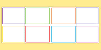 Editable Challenge Cards - challenge cards, blank challenge cards, editable cards, editable word cards, editable flash cards, blank colourful cards, cards