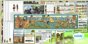 History: Stone Age to the Iron Age UKS2 Unit Additional Resources