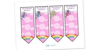 Fairy Sticker Reward Bookmarks (30mm) - Fairy Reward Bookmarks (30mm), Fairy, reward bookmarks, bookmarks, reward, 30mm, 30 mm, stickers, twinkl stickers, award, certificate, well done, behaviour management, behaviour, fairies, fantasy, wand, faerie,
