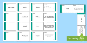 April Fools' Day Traditions From Around the World Loop Cards - ROI - April Fool's Day, traditions, around the world, loop, game, scotland, poland,iran, france, ge