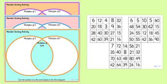 Ks2 venn diagrams primary resources venn diagrams venn diagram number multiples sorting activity venn diagram venn diagram sorting activity number ccuart Images