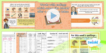 PlanIt Year 6 Term 2B W2: Words With Endings Which Sound Like /shuhl/ After a Consonant Letter Spelling Pack - Spellings Year 6, Y6, tial, cial, statutory, suffix , suffixes, SPaG, GPS, spelling, pack, weekly, l