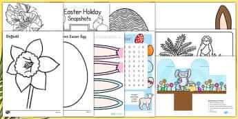 Top 10 Easter Activities For Parents - top ten, easter, resources, activities, parents