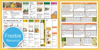 Autumn Fun for Families Activity Pack - art, craft, outdoors, parents, holidays