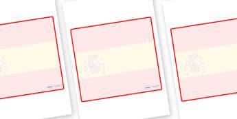 Spain Themed Editable Classroom Area Display Sign - Themed Classroom Area Signs, KS1, Banner, Foundation Stage Area Signs, Classroom labels, Area labels, Area Signs, Classroom Areas, Poster, Display, Areas