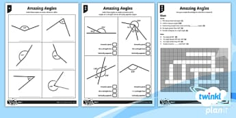 PlanIt Maths Y6 Properties of Shapes Amazing Angles Home Learning Tasks - angles around a point