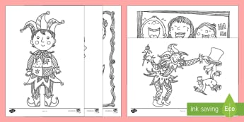 April Fools\' Day Mindfulness Colouring Pages - ROI, April Fools Day, Mindfulness, Colouring Pages, English,Irish