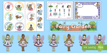 Back To School Fairy Resource Pack - Back to school, resources, display, labels, new zealand, resource pack, fairies