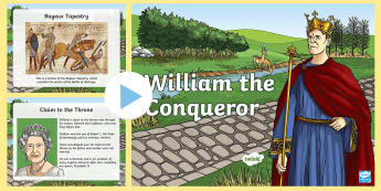 William the Conqueror Facts PowerPoint - fact, william, conqueror
