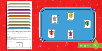 What's on the Tray? Christmas Presents Memory Activity Pack - memory games, memory, memory game, memory activities, memory games for kids, auditory memory activit