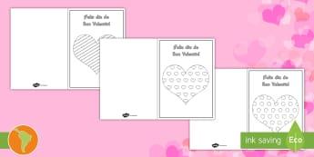 Tarjetas: Día de San Valentín - san valentín, español, día del amor, día de la amistad, día de los enamorados