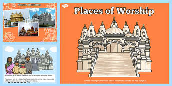 Places of Worship Hindu Mandirs KS2 PowerPoint - powerpoints