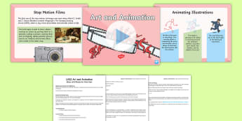 LKS2 Art and Animation Resource Pack - the big draw, drawing, cartoons, illustrations, y3, y4, animate, stop motion