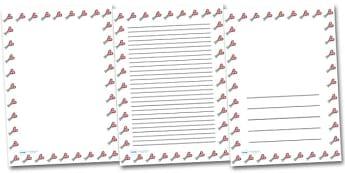 Scissors Portrait Page Borders- Portrait Page Borders - Page border, border, writing template, writing aid, writing frame, a4 border, template, templates, landscape