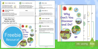 Why Don\'t You Discover and Do? Summer Holiday Hitlist Activity Booklet - summer holiday, diary, scrapbook, explore, creative