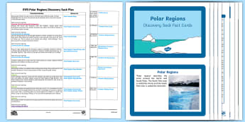 EYFS Polar Regions Discovery Sack Plan and Resource Pack - EYFS, Early Years, cold lands, Polar Regions, arctic, antarctic, North Pole, South Pole, Understanding the World