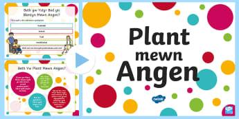 Pŵerbwynt Cyflwyniad Plant Mewn Angen