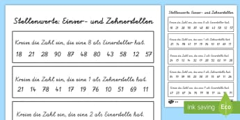 1./2. Klasse Mathematik Primary Resources - Page 16