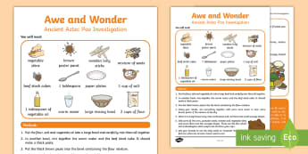 KS1 Ancient Poo Investigation Activity - Investigations, Exploring The Outdoors, Scientific Experiments, British Science Week, Observations I