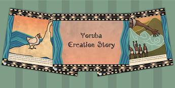 Kingdom of Benin: Yoruba Creation Story PowerPoint