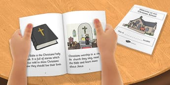 Our Christian School Booklet - new EAL starter, Christian School, faith school