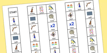 TW Board Game - sen, sound, special educational needs, tw, board game
