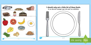 Healthy Eating Sorting Activity English/French - Healthy Eating Sorting Activity - healthy eating, healthy eating sorting, healthy eating sorting gam