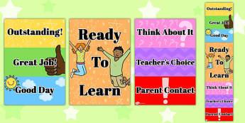 Behaviour Clip Chart System - behaviour, clip, chart, system