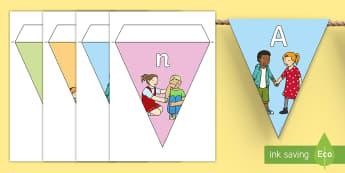 Anti Bullying Week Display Bunting - bully, ks1, ks2, eYFS, friend,