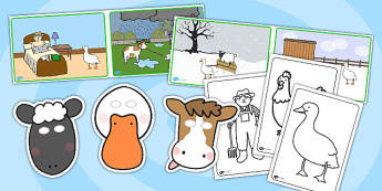 Farmer And Duck Story Sack - stories, story books, reading, books