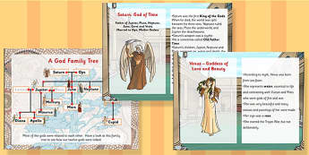 All About Roman Gods PowerPoint - romans, gods, roman god